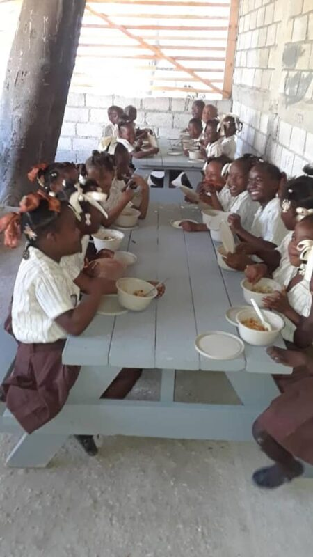 Student Sponsorship helps us provide lunch to our students three days/week.